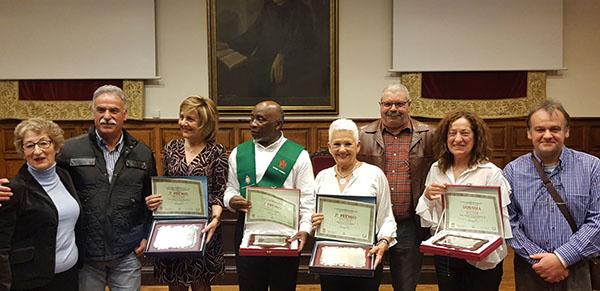 Jurado y premiados de los concursos de fotografía y poesía y relatos cortos